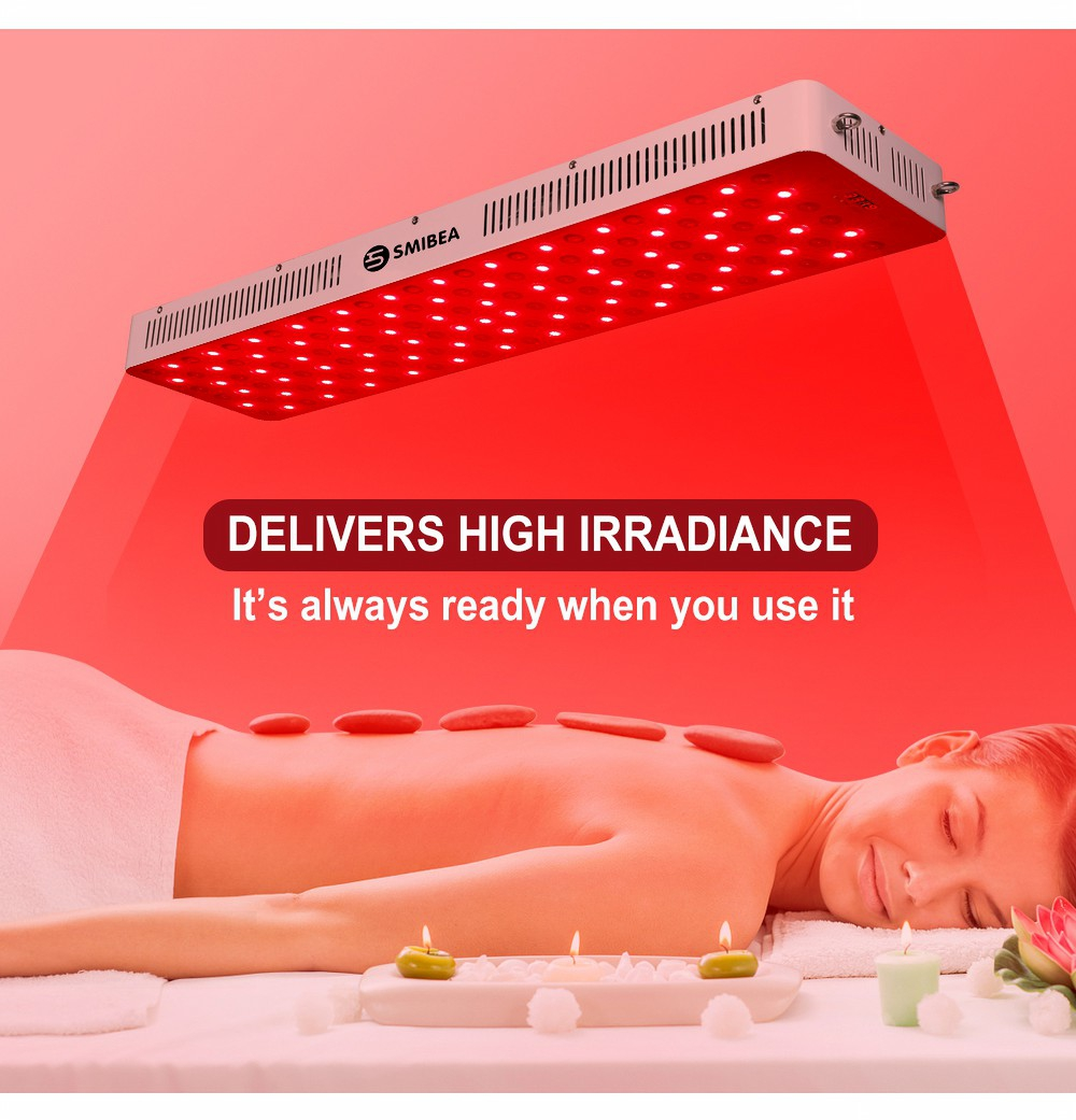Led Red Infrared Therapy Lamp