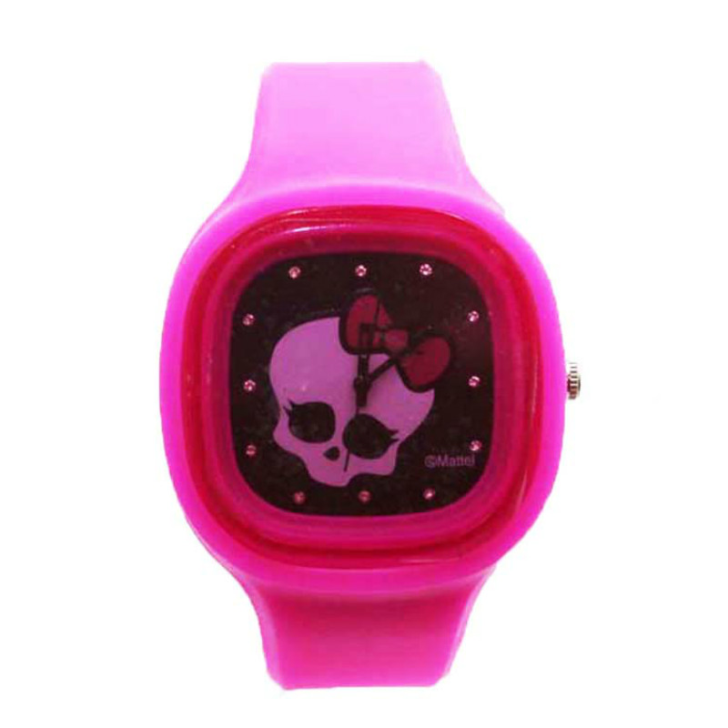 Colorful Thin Silicone Jelly Watch For Sport