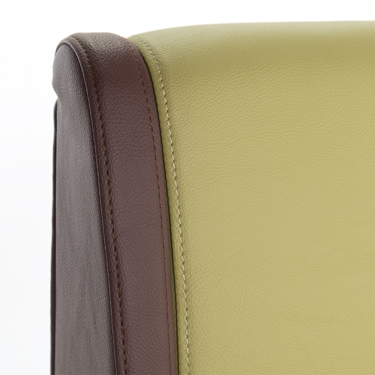 Pu Leather Fabric Sofa Wood Booth