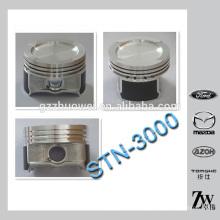 Peças do motor do carro pistão pistão do motor diesel para VW STN-3000