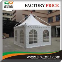Hot Sale Guangzhou easy up structure gazebo pagoda événement tente à vendre