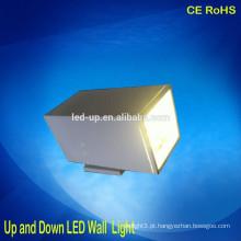 Melhor qualidade High-end luzes ao ar livre passo LED 12 * 1W * 2 para cima e para baixo LED Wall Light