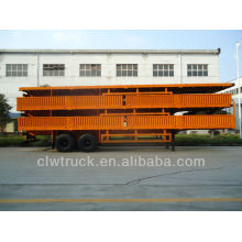 2014 low price 30 tons flatbed container cargo trailer