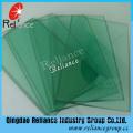 Verre teinté en verre flotté vert foncé de 5 mm