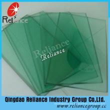Vaso de vidrio teñido verde de 4m m F / vidrio del flotador con Ce