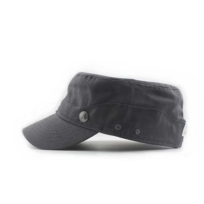 High Quality Cool Gray Military Cap