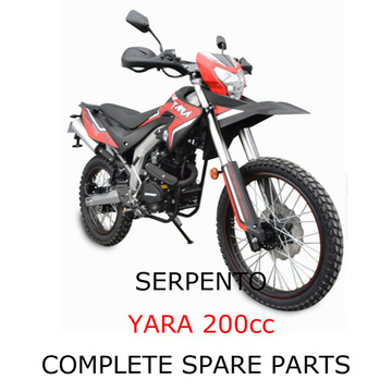 Serpento Dirt Bike YARA 200cc Części