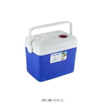 Refrigerador plástico de 30 litros, caixa do refrigerador de gelo, caixa plástica do refrigerador