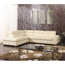 Canapé à encastrer électrique en cuir de chaise en cuir véritable (825)