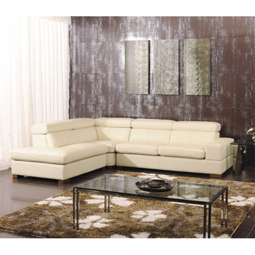 Genuine Leather Chaise Leather Sofa Electric Recliner Sofa (825)