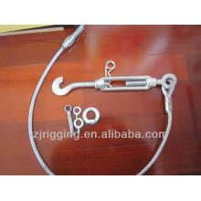 élingue de câble métallique