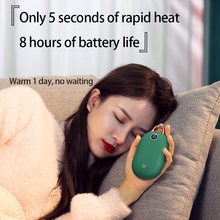 Banco de energia aquecido de inverno e aquecedor de mãos