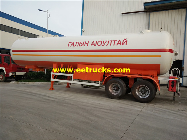 LPG Gas Transportaion Trailers