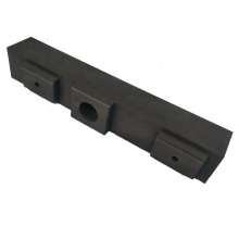 Fine grained refractory molded high pure graphite stick