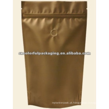 Sacos de empacotamento da folha de alumínio para o alimento ou a mercadoria com válvula