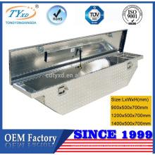 low profile metal tool box for truck