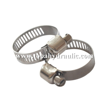 welding wire tube stainless steel hose clamp