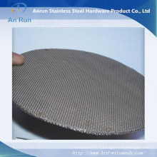 Filtre à filtre à métaux finis à 50 microns en acier inoxydable