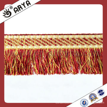 Colorful Bullion Trims Tassel Fringes for Curtains and Sofa
