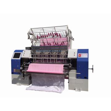 Máquina de acolchar de alta velocidad de Dongguan Yuxing, 2 metros Máquina de acolchar de funda de edredón, 76 Quilates de múltiples agujas