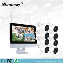 8CH 2.0MP WIFI NVR-kits met touchscreen