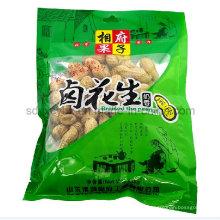 Mode 3-Side Sealing Snack Kunststoff Lebensmittelverpackungen / Lebensmittelbeutel