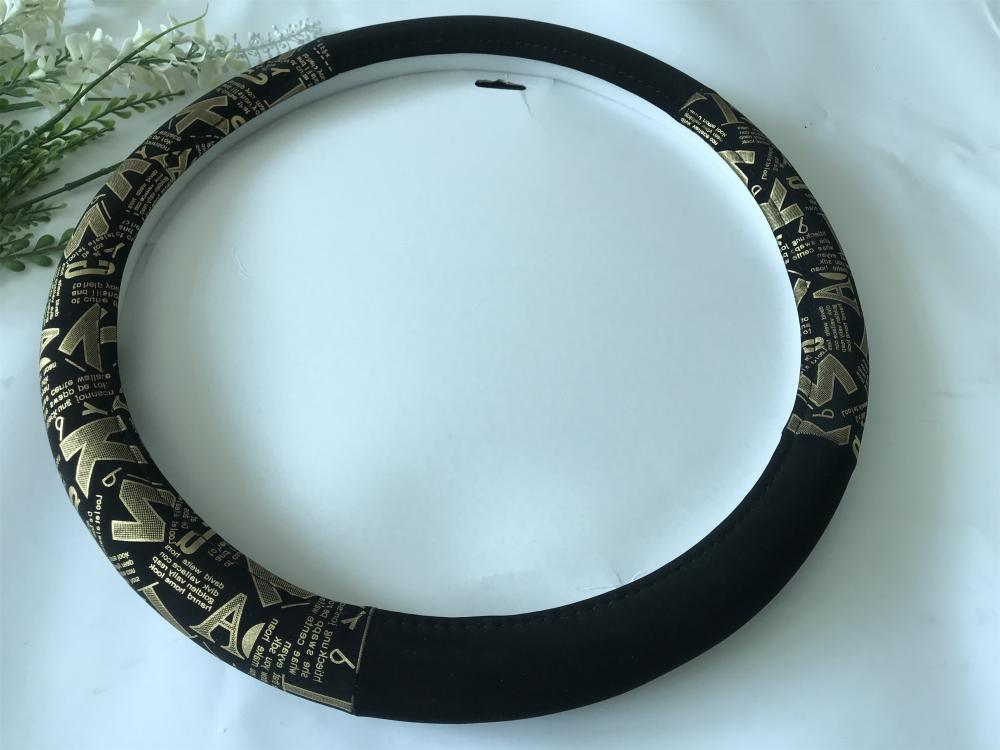 velour steering wheel cover