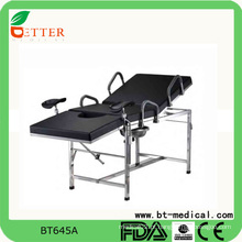 Cadeira de mesa de exame ginecológica hospitalar