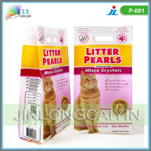 Side Gusset Cat Litter Bag with Bottom Gusset
