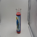8 inches glass jar religious candle/candles in glass jar