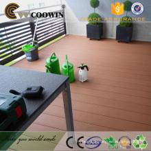 Balkon Bodenbelag Holz Kunststoff wpc billig Decking China China Hersteller / Lieferanten / Fabrik