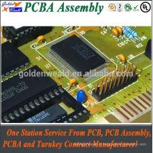 PCBA d'affichage avec le ventilateur et le dissipateur de chaleur appropriés pour l'équipement industriel de contrôleur PCB assemlies dell pcba test
