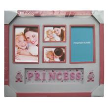 Baby Prinzessin rot schöne Collage-Fotorahmen