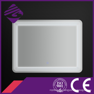 Jnh166 China Factpry Appealing Cheap Rectangle Beveled Edge LED Mirror