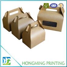 Take Away PVC Window Kraft Food Box