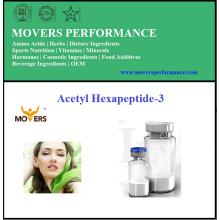 Высококачественный косметический пептид ацетил-гексапептид-3
