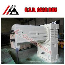 Redutor de caixa de engrenagens para extrusora de parafuso duplo cônico de PVC