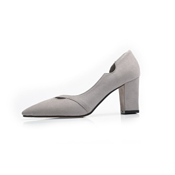 Kobiety Sexy Chunky High Heel Shoes