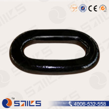 Grade 2 Black Studless End Anchor Chain