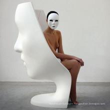 Latest Home Design Furniture Fiberglass Face Sofa Chair