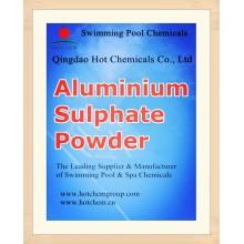 Бассейн Флокулянта сульфата алюминия химических веществ CAS 10043-01-3