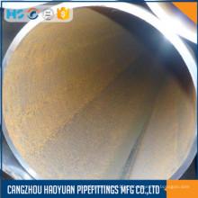 DN700 Seam Erw Tubo de acero negro