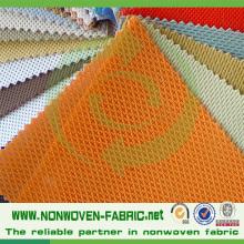 Home Textile Fabric Cross Design Fabric Cambrelle Shoe Lining