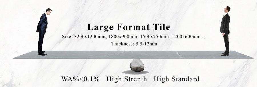 large format anti slip tile