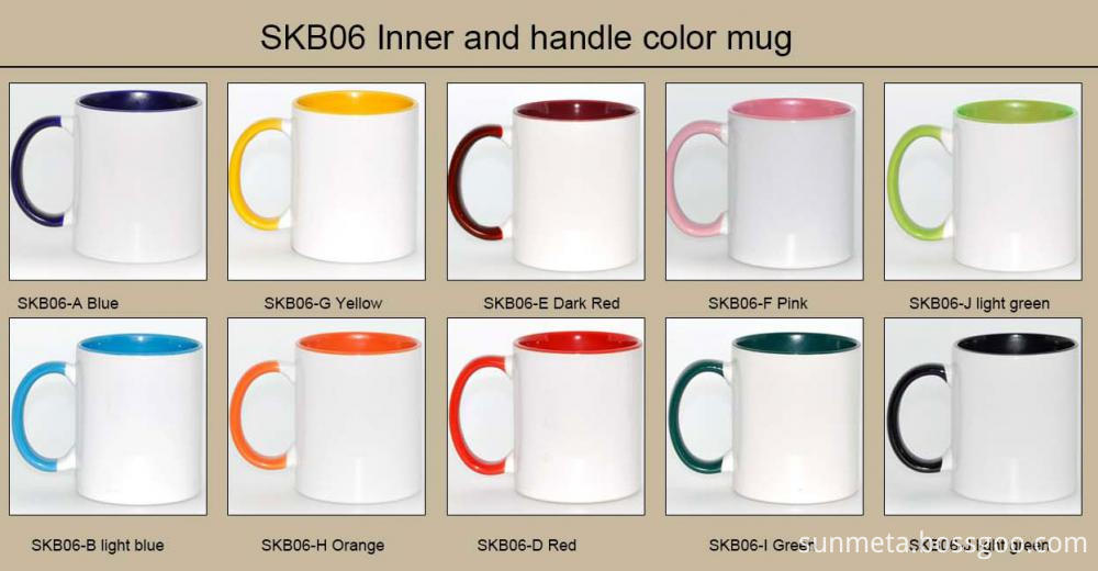 Inner and handle mug