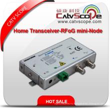 Профессиональный поставщик высокопроизводительных CATV FTTH Agc домашний приемопередатчик-оптический приемник / Rfog мини-узел