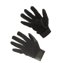 Wasserdichte industrielle Arbeit Kunstleder Palm Impact Handschuhe