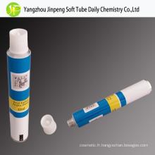 Tubes jetables en aluminium pour le verre acrylique peintures Tubes