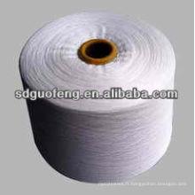 fil de coton recyclé