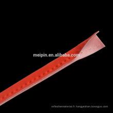 Passepoil réfléchissant de polyester de haute qualité de polyester d'OEM / tuyau réfléchissant